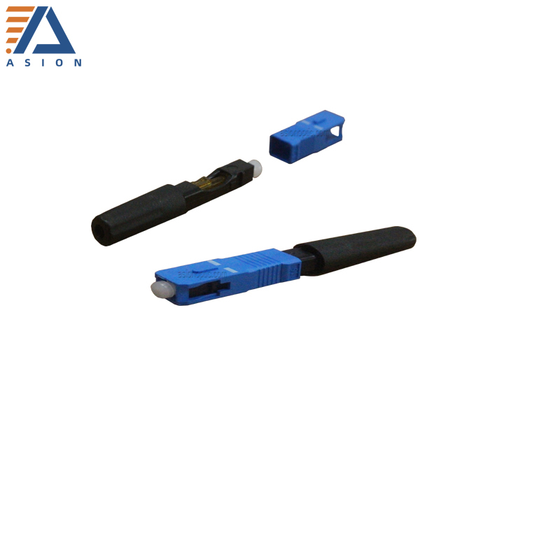 Field Assembly SC Fast Connector round type