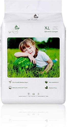 ECO BOOM Biodegrable Nappies Disposable Bamboo Natural Soft Sensitive for Baby Diaper Size 5