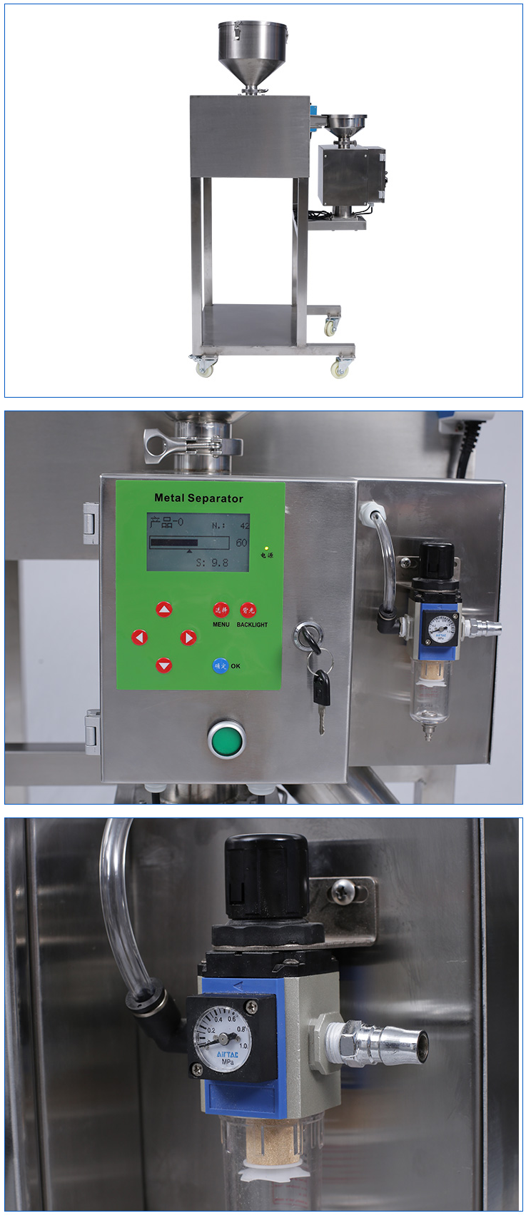 SAMD-700ZD2 metal separator